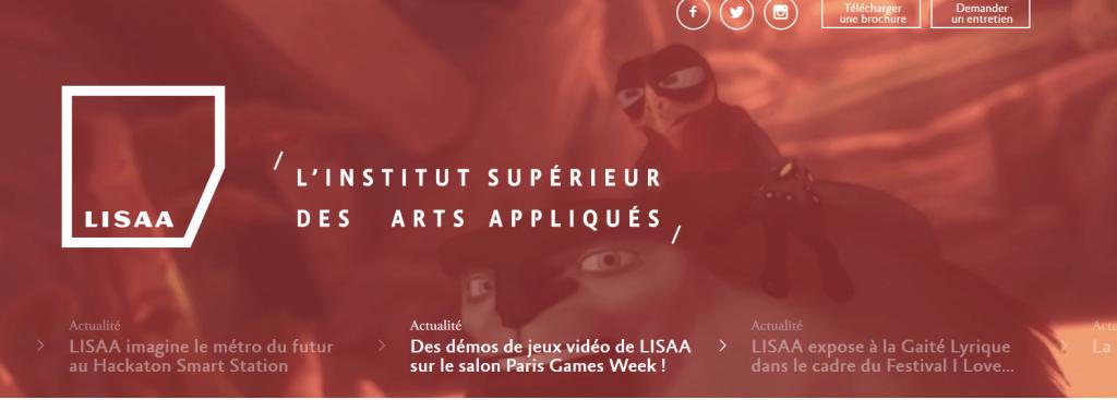 LISAA_Formations_prépa,_MANAA_et_cycles_supérieurs_bachelors_et_masters_design_de_L_Institut_Supérieur_des_Arts_Appliqués_-_2015-10-31_18.30.19