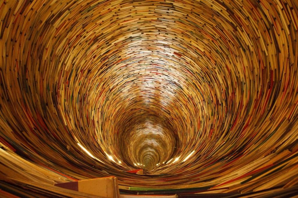spirale de livres