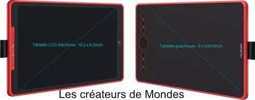Le magazine des Créateurs de Mondes Tablettes graphiques : Guide d'achat et comparatif 2021 Huion H320m cintiq   dessiner   écrire