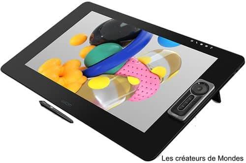 Le magazine des Créateurs de Mondes Tablettes graphiques : Guide d'achat et comparatif 2021 Wacom Cintiq Pro 24 Touch cintiq   dessiner   écrire