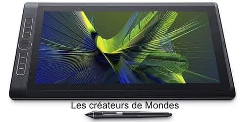 Le magazine des Créateurs de Mondes Tablettes graphiques : Guide d'achat et comparatif 2021 Wacom mobile studio pro 16 cintiq   dessiner   écrire