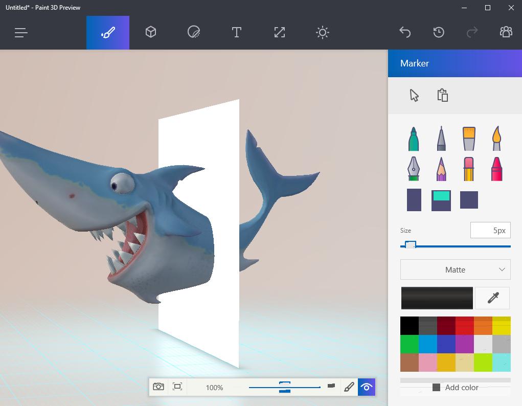 Le magazine des Créateurs de Mondes Windows 10 Creator Update paint 3d preview 100689917 orig
