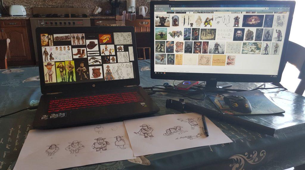 Le magazine des Créateurs de Mondes Devlog 0: J'ai fait un jeu... par accident - et j'y ai pris gout ! miniature 2D   concept art   Création