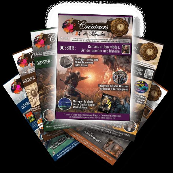 Le magazine des Créateurs de Mondes Accueil accueil formules abonnements