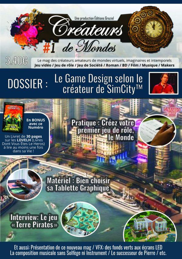 Le magazine des Créateurs de Mondes Créateurs de Mondes #1 mag001 1