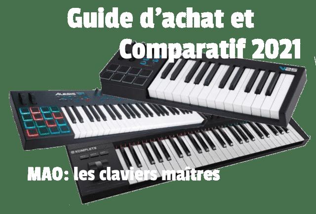 MAO : Guide d'achat des claviers maîtres et comparatif 2021