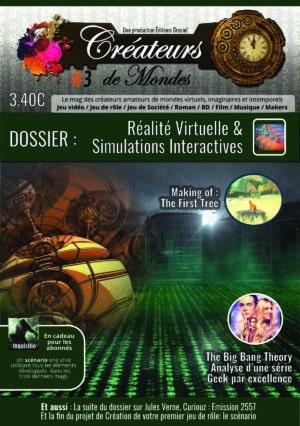 Le magazine des Créateurs de Mondes Anciens numéros mag003