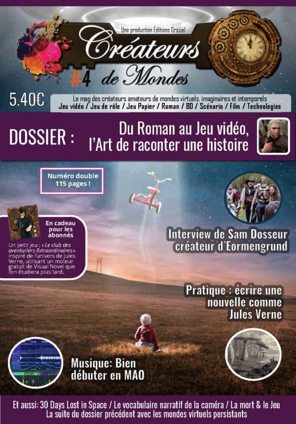 Le magazine des Créateurs de Mondes Créateurs de Mondes #4 LCDMmag004 Page 001