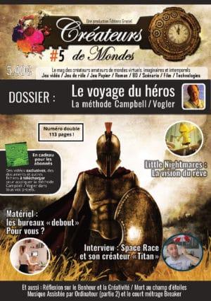 Le magazine des Créateurs de Mondes Anciens numéros LCDMmag005 Page 001