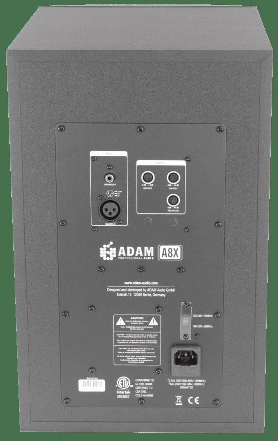 Le magazine des Créateurs de Mondes MAO : Guide d'achat des enceintes de monitoring et comparatif 2021 enceinte mao adam audio a8x arriere