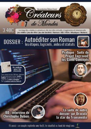 Le magazine des Créateurs de Mondes Anciens numéros Mag007 Page 01