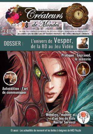 Le magazine des Créateurs de Mondes Anciens numéros LCDMmag008 Page 01