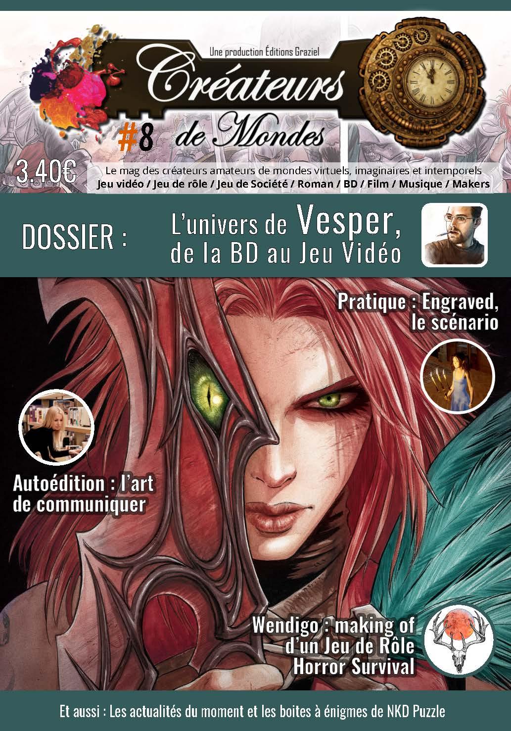 Le magazine des Créateurs de Mondes Accueil LCDMmag008 Page 01